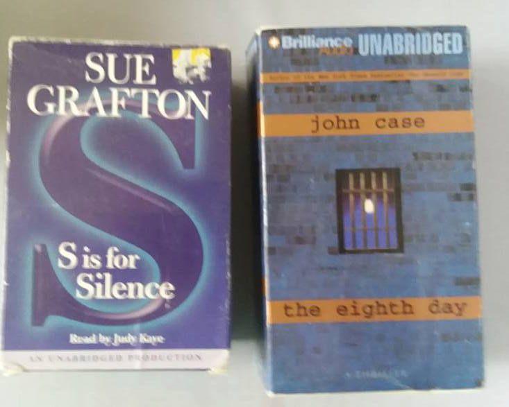 Books On Tape Mystery Suspense Thriller 24 Hours Unabridged 2 Great Novels Enjoy