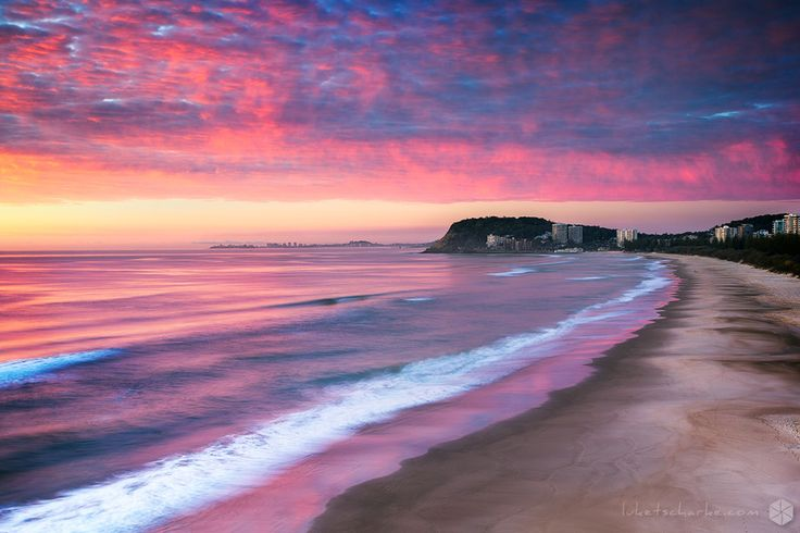 Sunrise at Burleigh Heads by Luke Tscharke on 500px