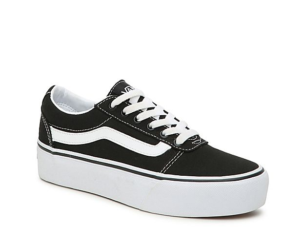 Vans Ward Platform Sneaker - Women's in