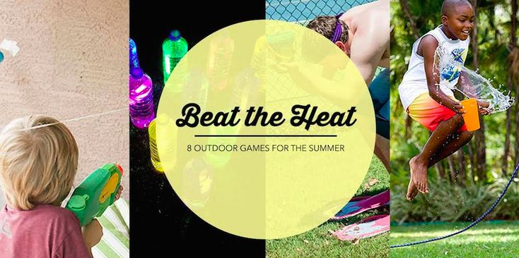 8 Easy Outdoor Games To Help You Beat The Summer HeatWhat The Flicka?