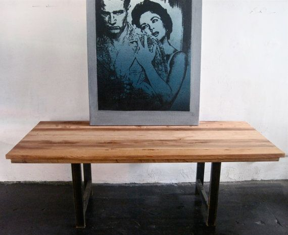 1000 ideas about industrial dining tables on pinterest for Where to buy reclaimed wood los angeles