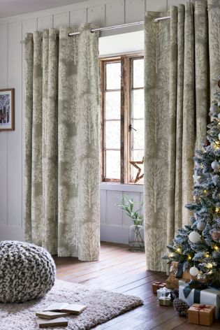 Buy Tree Print Eyelet Curtains Online Today At Next Rep Of Ireland