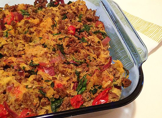 Lunch Dinner Spaghetti Squash Bake - Learn How To Cook This & More With Beginner Cook Books