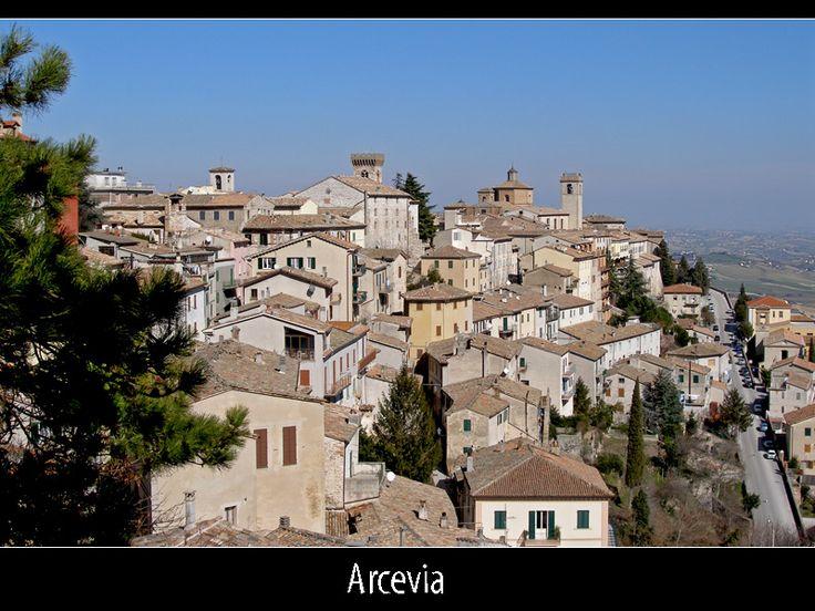 #Arcevia, Marche, Italy