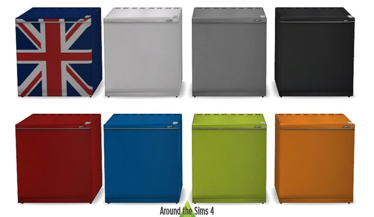 Sims 2 University mini-Fridge for Sims 4 by Arond The Sims 4.