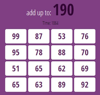 Fun Math- Intermediate is an intermediate level of Fun Math - Beginner math game. Player is requires to solve all math question before the time is up.