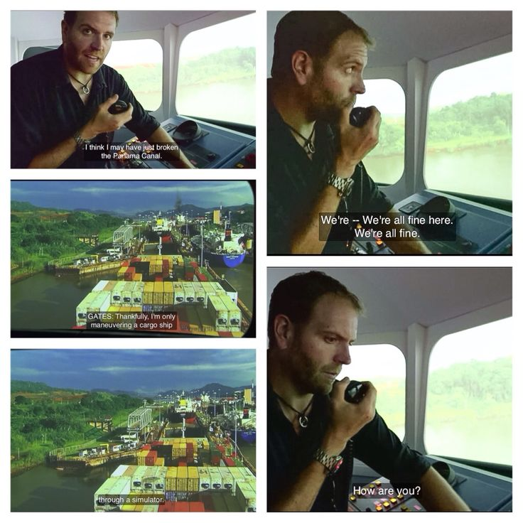 Josh Gates breaking the Panama Canal. Expedition Unknown, Captain Morgan's Lost Gold