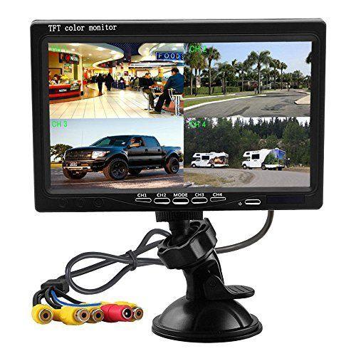 #marineelectronics Podofo Car Backup Camera Waterproof Rearview Camera System
