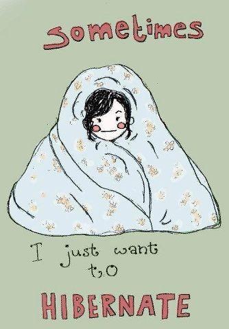 Sometimes I just want to hibernate