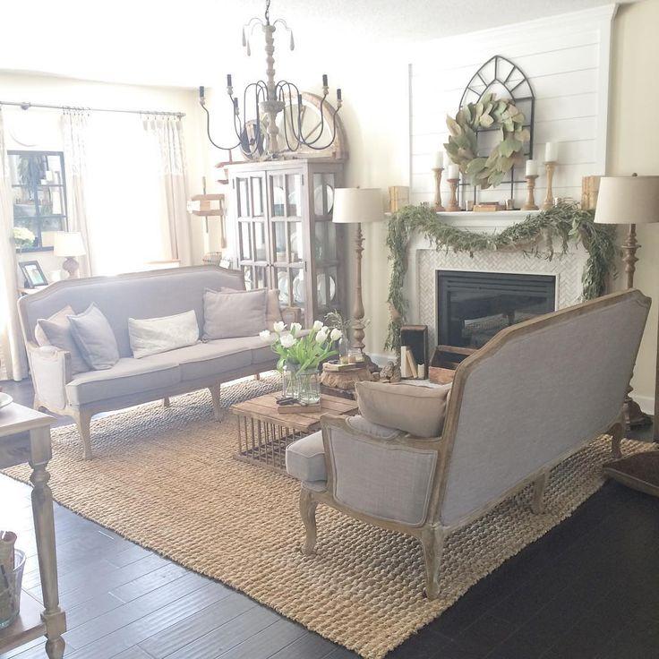 Home sweet home! . . . . . #plumprettydecoranddesign #homedecor #interiordesign #interiordesigner #blog #shiplap #decor #farmhousestyle #farmhousedecor #homesweethome #mantel #livingroom