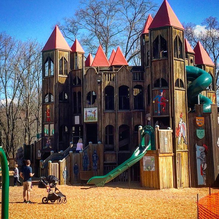 Fun for kids in Bucks County is the Kids' Castle in Doylestown