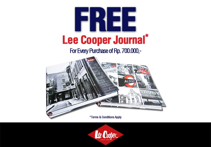 Lee Cooper Journal