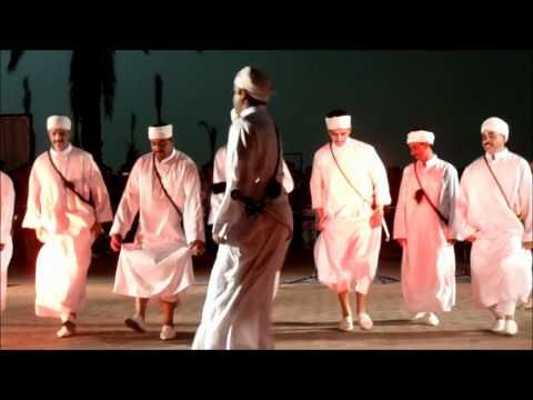 Arts: Folk music and dance are very important to the people, especially youth, of Morocco. The music is very upbeat and the dance includes shaky movements. This video shows a traditional Moroccan dance and song.