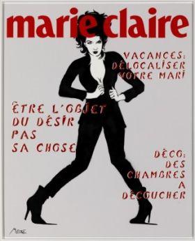 Marie Claire, tirage pigmentaire sur papier Fine Art Etch