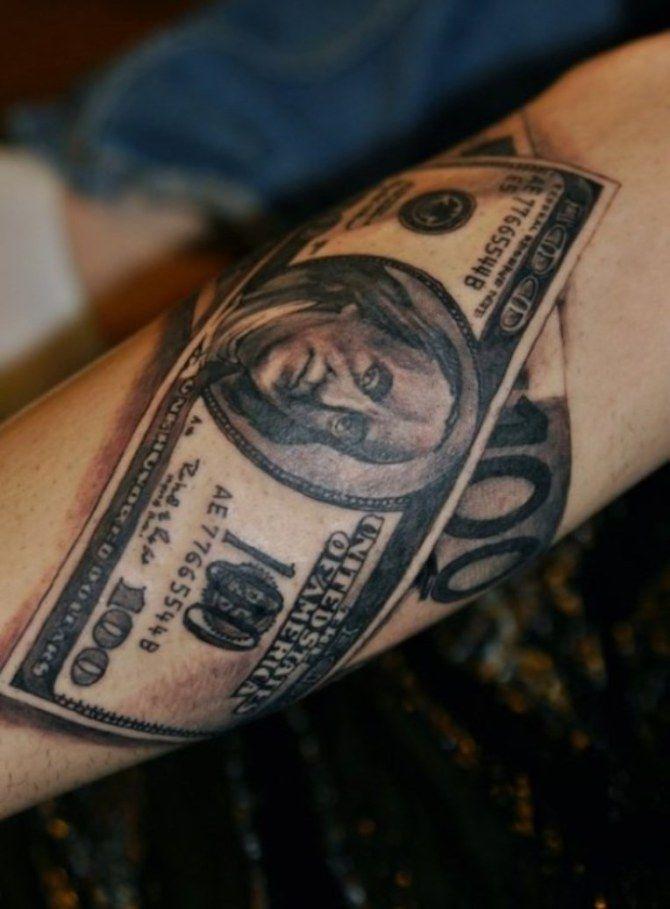 06 Dollar Bill Tattoo