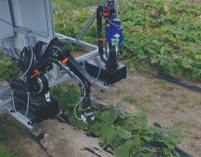 CATCH, robot-assembler, agricultural robot, Germany, Fraunhofer Institute - New products of agricultural robots - Robotics