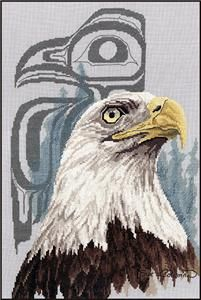 Eye of the Eagle Cross Stitch