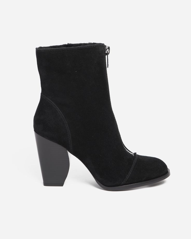 Marc by Marc Jacobs Jackson Suede Zip Ankle Boot