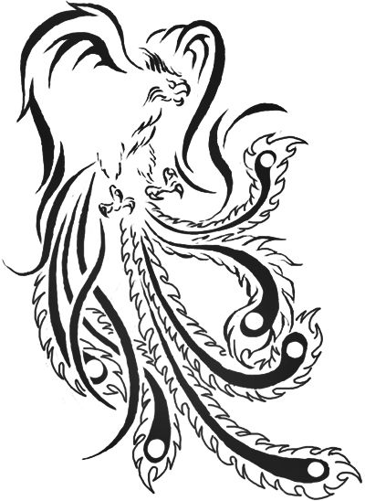 17 best images about tatuajes on pinterest for Fenix tribal tattoo