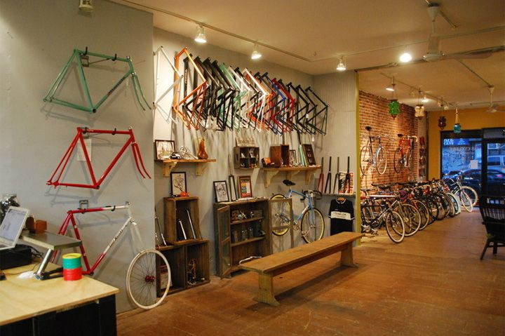 BICYCLE STORES 718 Cyclery Brooklyn 02 BICYCLE STORES!  718 Cyclery, Brooklyn