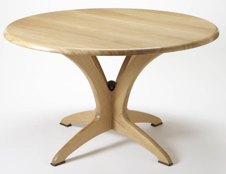 Modern Round Wood Dining Room Tables For Table