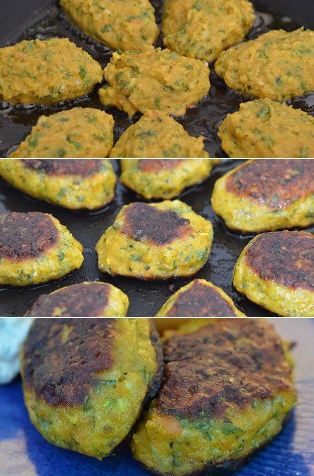 Lækre fiskefrikadeller med en herlig smag fra indisk inspirerede ingredienser.