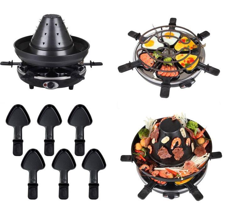 Tatarenhut Raclette Grill für 6 Personen SYNTROX RAC-TAT-1500W