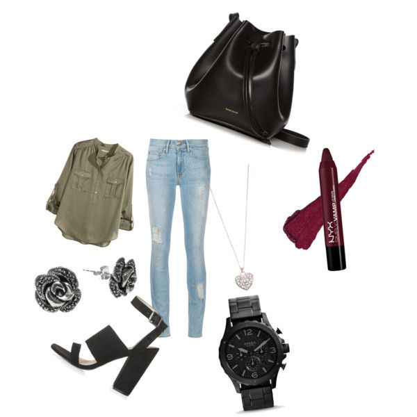 pick 106 by carlifornia101 on Polyvore featuring polyvore fashion style H&M Topshop Rachael Ruddick Goldmajor Accessorize