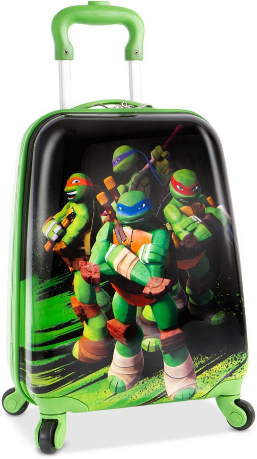 "Heys Nickelodeon Ninja Turtles 18"" Spinner Suitcase"