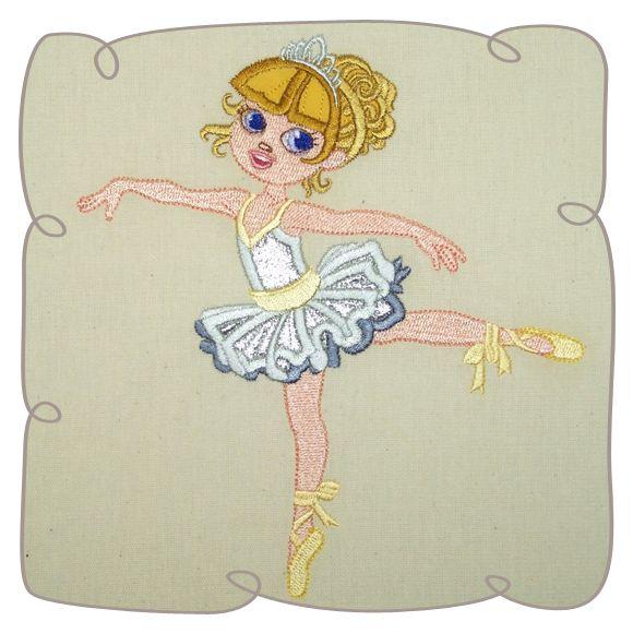 Anya Ballerina 3: Embroidershoppe