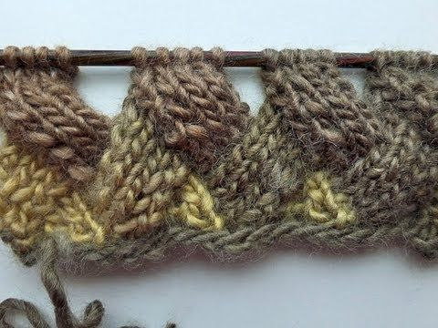 Entrelac without turns and purls? WHAT? I'm going to have to try this.