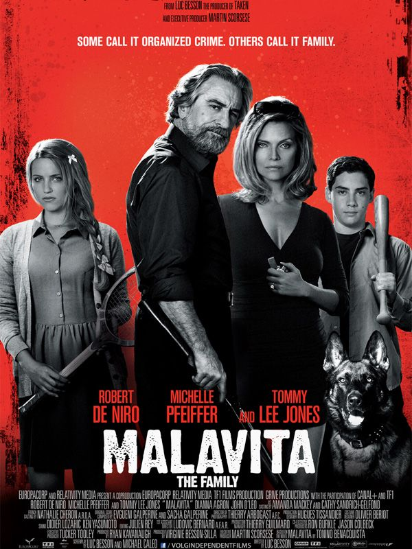 Malavita (2013) directed by Luc Besson
