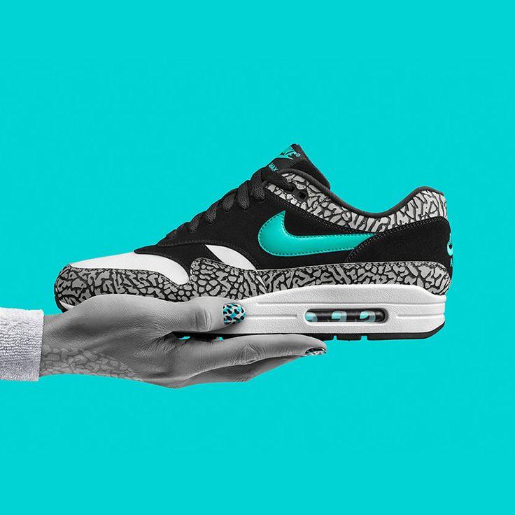 """Atmos x Nike Air Max 1 """"Elephant"""""""