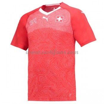 Švýcarsko Fotbalové Dresy MS 2018 Domáci Dres