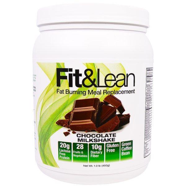 Maximum Human Performance, LLC, Fit & Lean, Fat Burning Meal Replacement, Chocolate Milkshake, 1.0 lb (450 g)