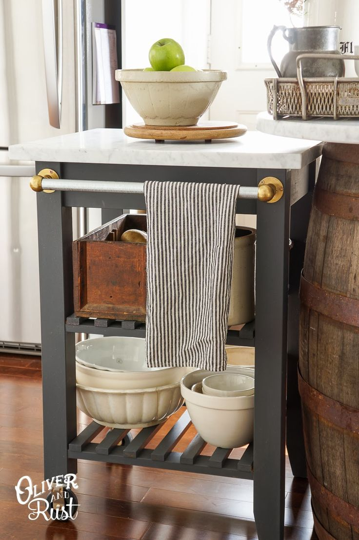 17 Best Ideas About Rolling Kitchen Island On Pinterest Rolling