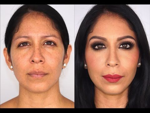 Como maquillar ojos caídos - How to lift your eyes with makeup - YouTube