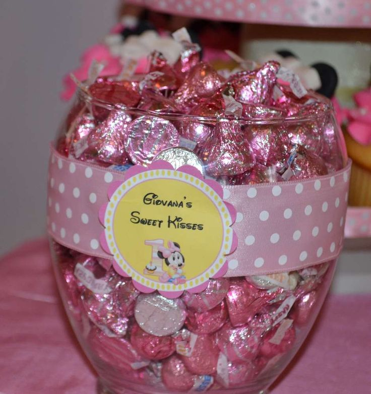 Minnie Mouse First Birthday   CatchMyParty.com