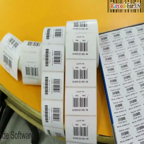 How to use printer with DRPU Barcode Program For more information Visit: www.BarcodeFor.US or any query Email us: Support@BarcodeFor.US In this video you'll learn the working of thermal printer. This tutorial described how to set roll in thermal printer. Varieties of barcode printing media have also explained. Learn how thermal printer and laser printer works with DRPU Barcode Label Maker Software.