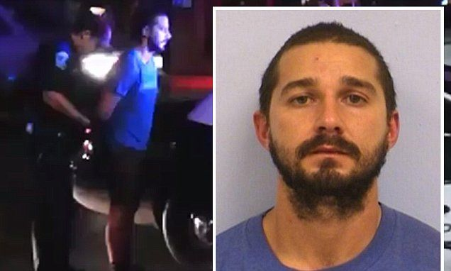 Shia La Beouf has been 'arrested and booked for public intoxication' in Austin, Texas where he's believed to be attending the Austin City Limits Music Festival.