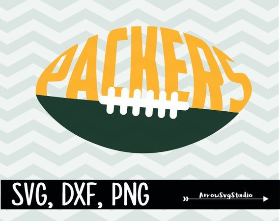 Packers Football In Svg Dxf And Png Instant Download In 2020 Green Bay Packers Logo Green Bay Packers Shirts Green Bay Packers Crafts