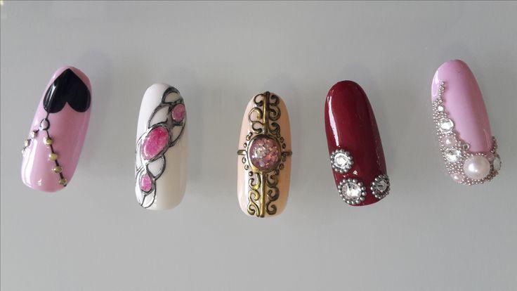 Idee di unghie gioiello