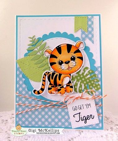PKSC-42 January 2018: Peachy Keen Stamps | Home of the original clear, peach-tinted, high-quality whimsical face stamps.