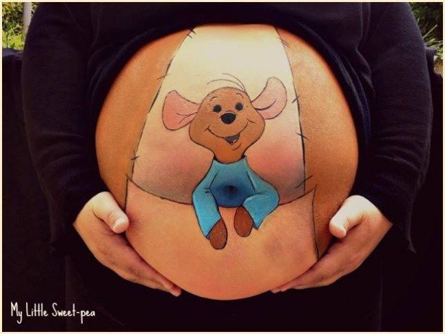 Belly Painting : 30 photos qui vont vous bluffer