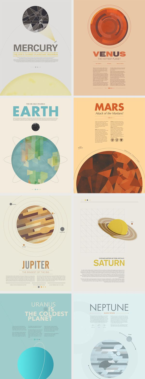 Beyond Earth by Stephen Di Donato - a poster series based on vintage space exploration.