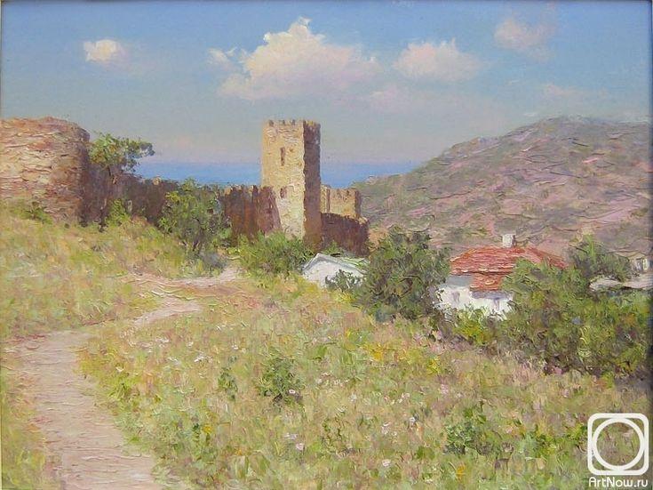 Сень Анaтолий. Генуэзская крепость.