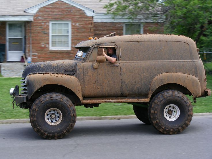 Lifted Advanced Design panel truck | Vehicles: Panel ...