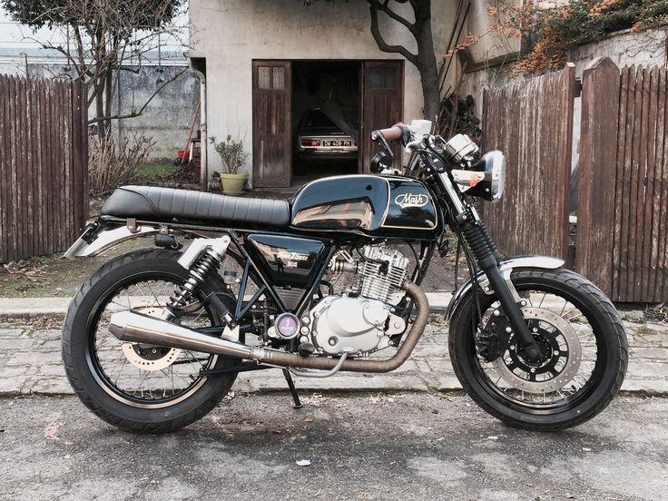 Mash black seven préparation 92 zesey custom moto 125 custom
