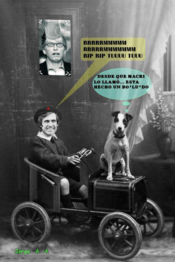 reutemann humor  pro ...macri... funny