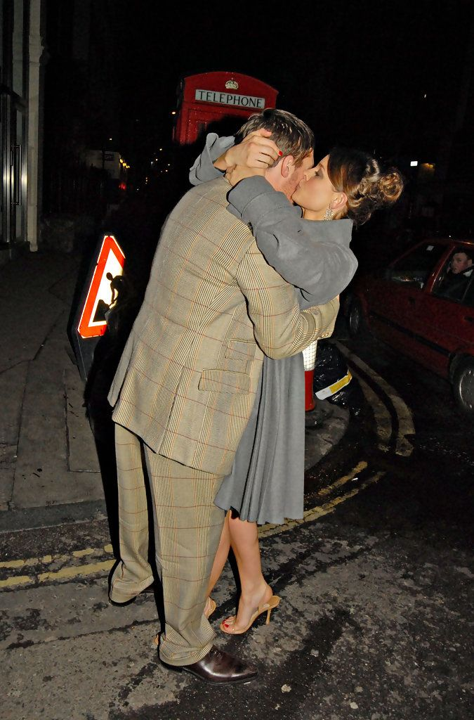 Tom Hardy & Rachael Speed in Leaving Groucho Club - London 2009, March 10 - Bronson Premiere / TH0074